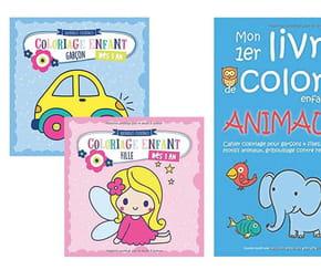 Cahier de coloriages Maternelle: notre sélection pour développer l'apprentissage des tout-petits