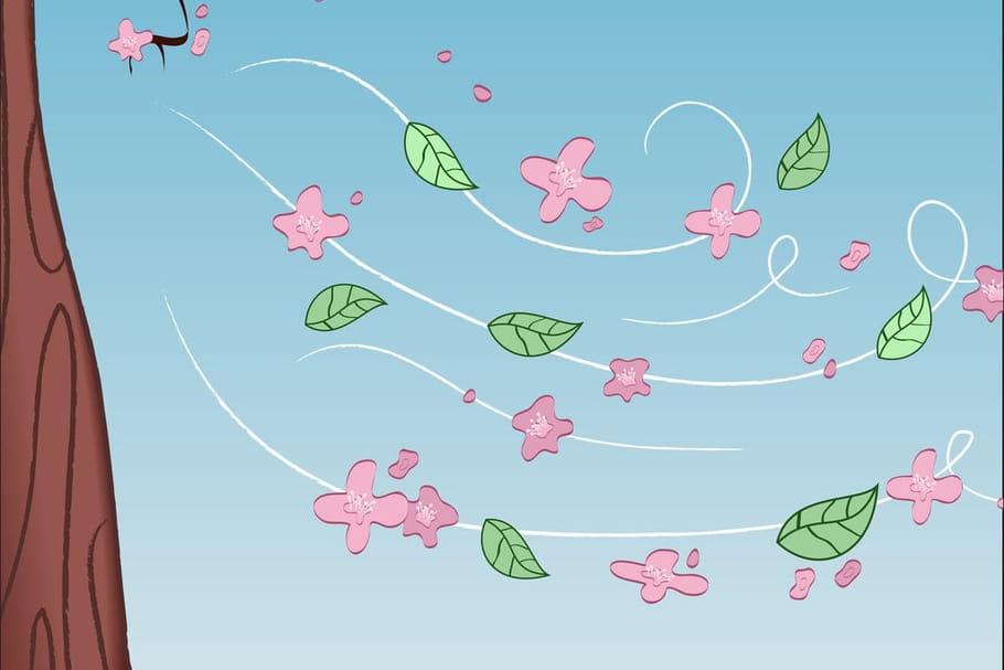 Vive le vent chansons pour enfants sur - Dessiner le vent ...