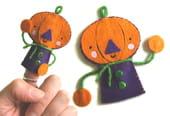 Marionnette de doigts, Jack O'Lantern
