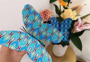 Papillon animé DIY