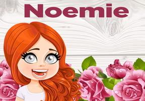 Noemie : prénom de fille lettre N