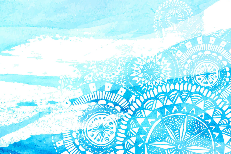 Coloriage Mandala de la Mer sur Hugolescargot.com