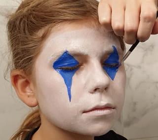 Étape 2: Le maquillage des yeux