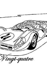 Coloriage 24heures du Mans