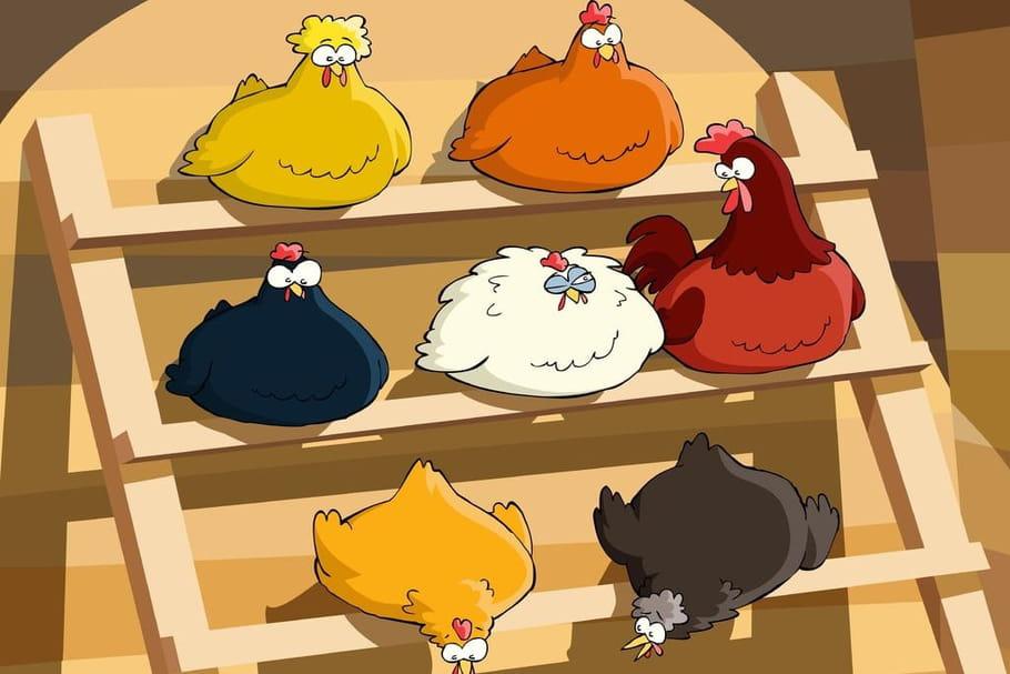 Comptine J'ai des poules à vendre