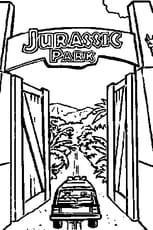 Coloriage Magique Jurassic World.Coloriage Jurassic Park En Ligne Gratuit A Imprimer