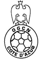 Coloriage OGC Nice