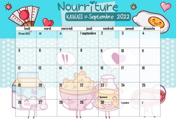calendrier-nourriture-kawaii-a-imprimer