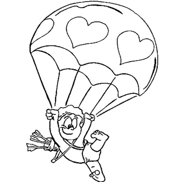 Dessin la saint valentin a colorier