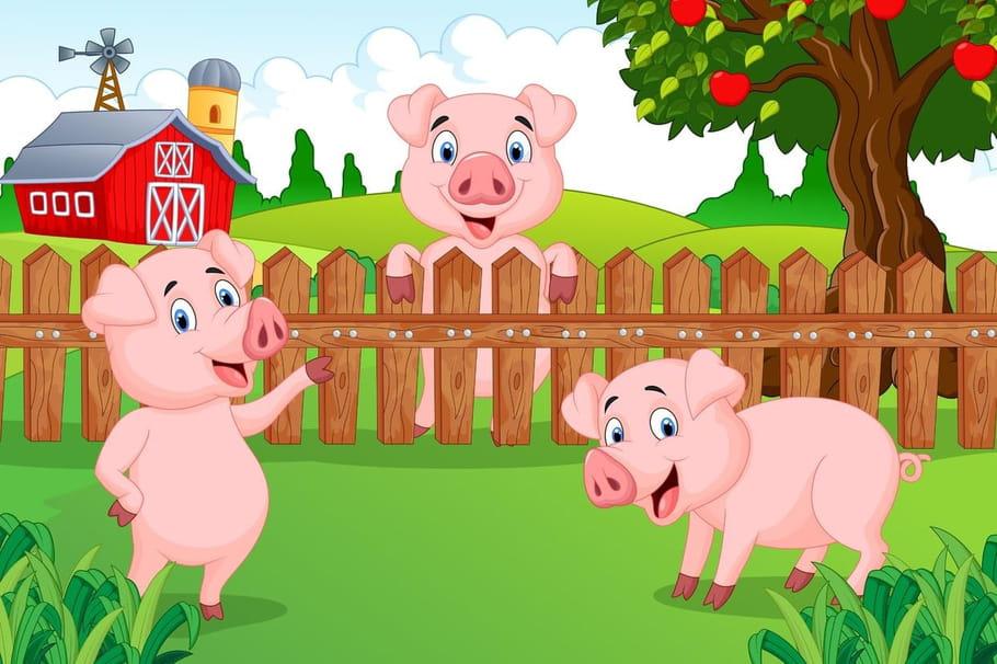 Un petit cochon pendu au plafond chansons pour enfants - Un petit cochon pendu au plafond ...