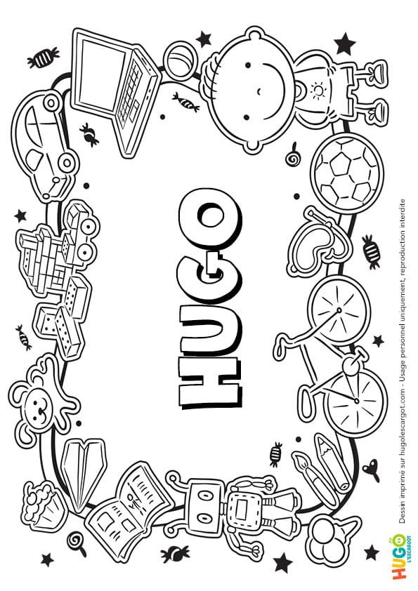 Hugo prénom de garçon version3