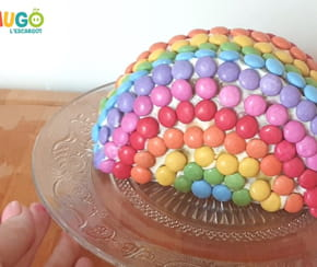 Le gâteau arc-en-ciel [VIDEO]