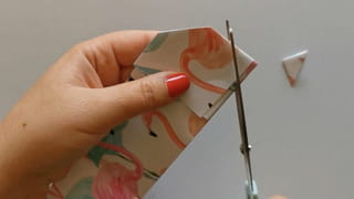Étape 4: découpage de la feuille