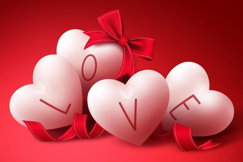 Coloriage coeur pour les amoureux