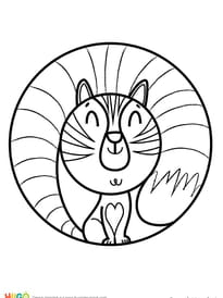 Coloriage Chat A Imprimer Sur Hugolescargot Com