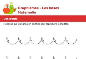 Les bases du graphisme, les ponts niveau 2