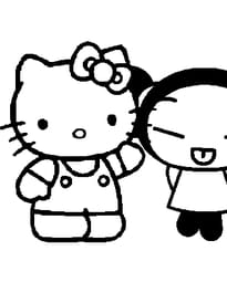 Hello Kitty Pucca.