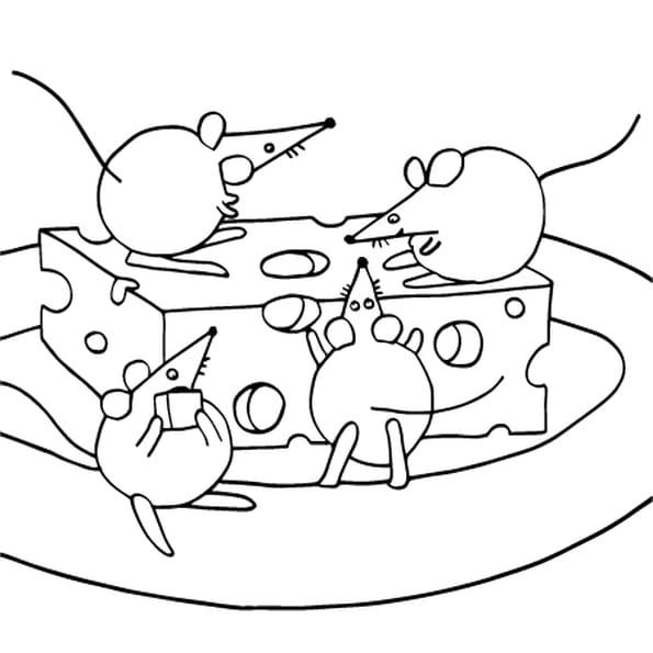 Dessin souris coloriage dessin souris en ligne gratuit a imprimer sur coloriage tv - Coloriage souris ...
