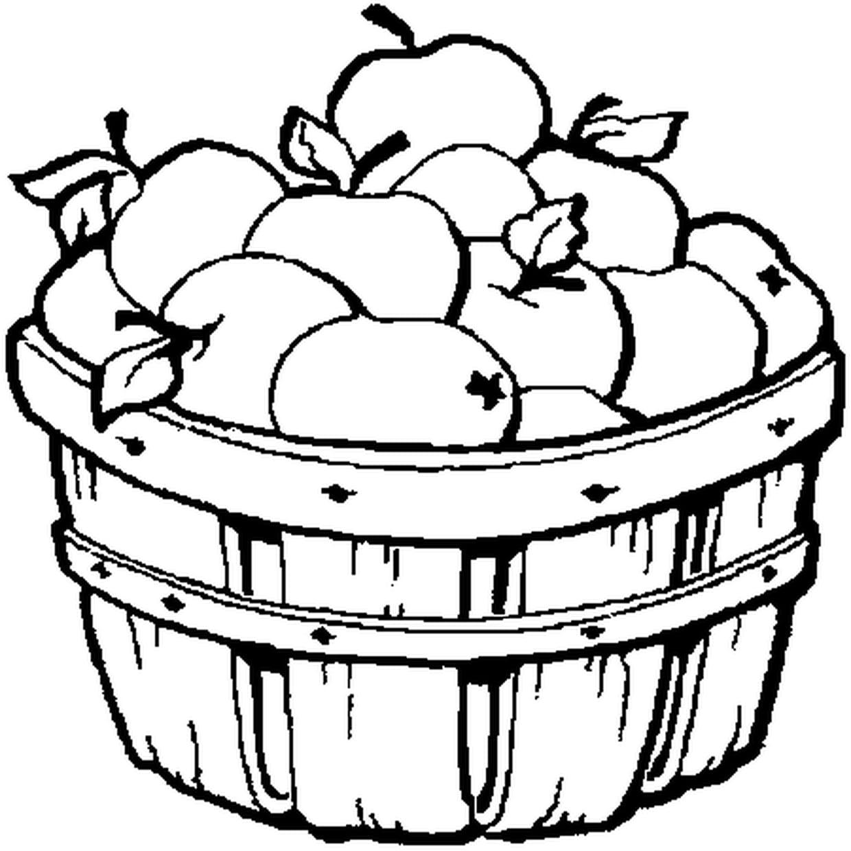 Coloriage Pomme En Ligne Gratuit A Imprimer
