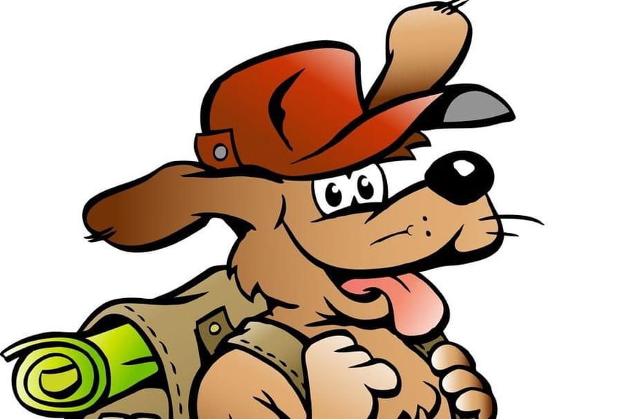 Comptine Le petit chien voyageur