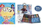 Cahier de coloriages Disney: sélection de princesses et héros de dessins animés