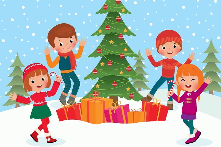 Comptine Chanson pour les enfants l'hiver