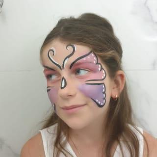 Étape 9: le maquillage papillon est terminé!