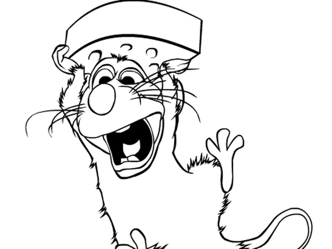 Coloriage Facile Ratatouille.Coloriage Ratatouille En Ligne Gratuit A Imprimer