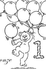 Coloriage nombre 11