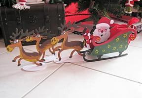 Le traîneau du père Noël