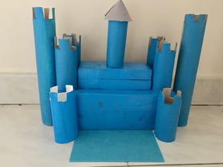 Etape 5: former le château