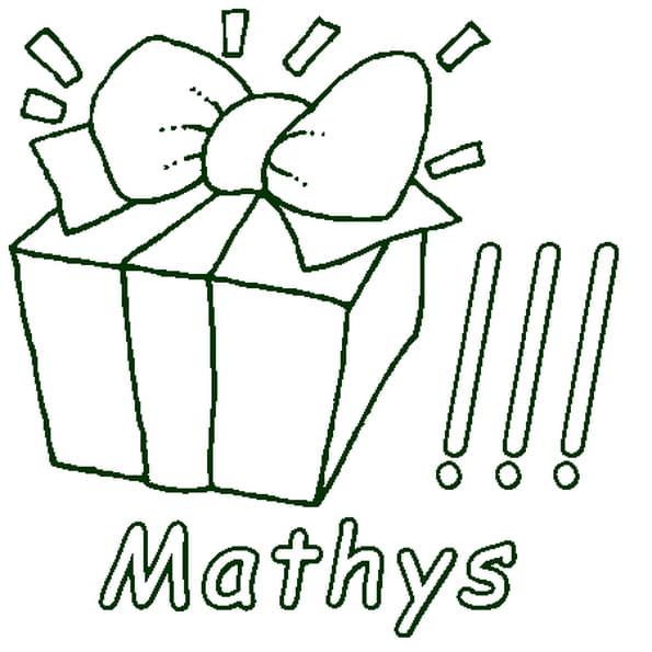 Coloriage Mathys en Ligne Gratuit à imprimer