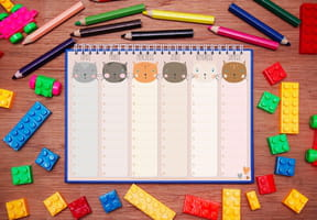 Emploi du temps enfant: organiser sa semaine