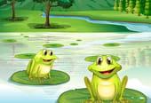 Comptine La jeune grenouille
