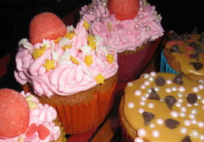 Cupcakes aux chamallows