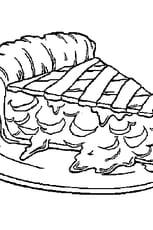 Coloriage Tarte
