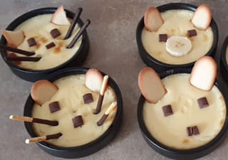 Votre crème aux œufs est terminée!