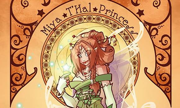 Coloriage Princesse Miya