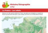 La France, les reliefs