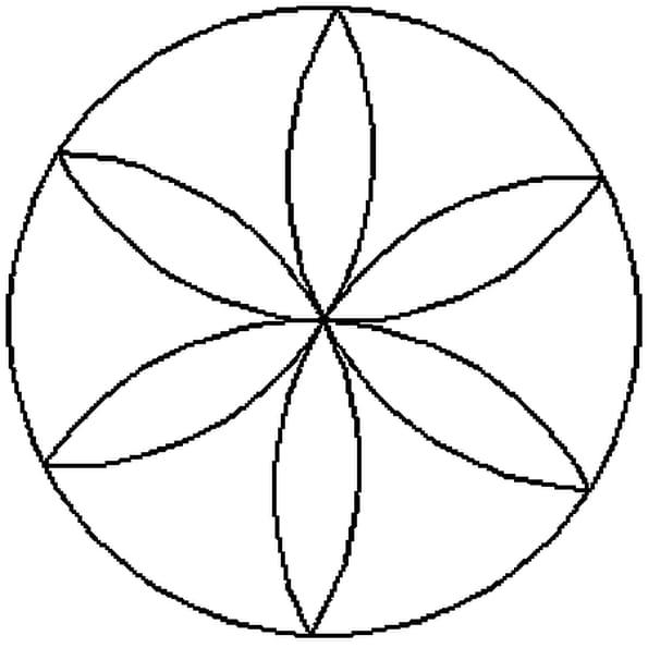 Coloriage Mandala Rosace En Ligne Gratuit A Imprimer