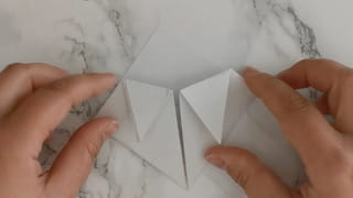 Marque-page chat en origami