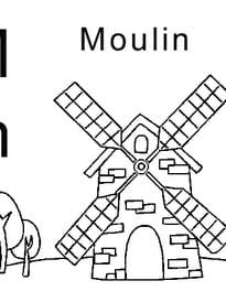 lettre M comme moulin