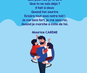 """Poème """"Pour mon Père"""" de Maurice Carême"""