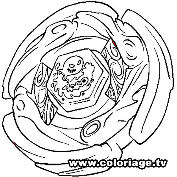 Coloriage Beyblade Burst Turbo A Imprimer.Coloriage Beyblade Aquario En Ligne Gratuit A Imprimer