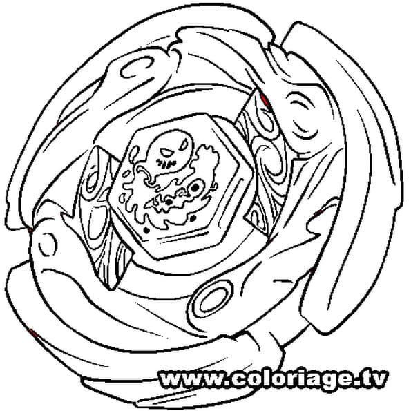 Dernier Coloriage à Imprimer Beyblade Coloriages à