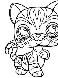 Coloriage De Petshop Chat A Imprimer.Pet Shop Tous Les Articles Hugo L Escargot