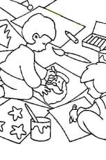 Coloriage dessin noël en Ligne Gratuit à imprimer