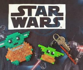 Perles à repasser Bébé Yoda