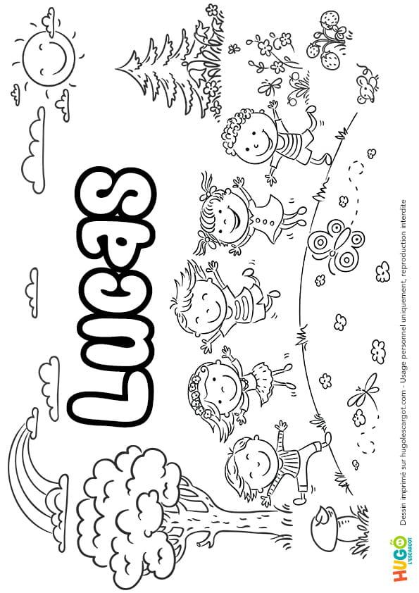 Lucas prénom de garçon version4