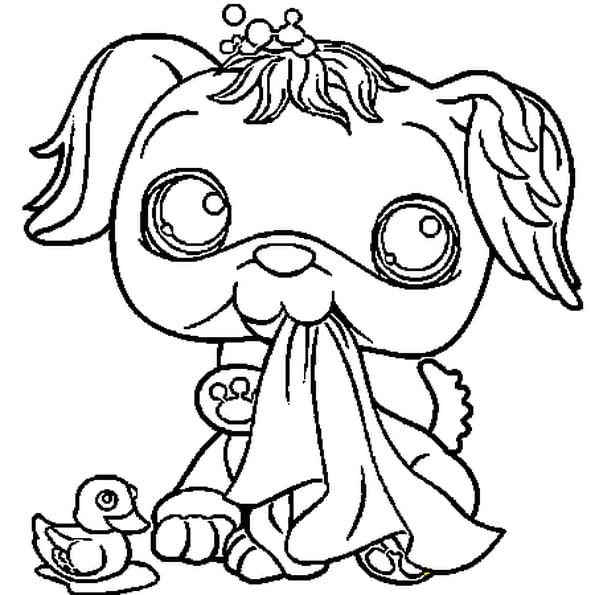 Coloriage pet shop chien 2 en ligne gratuit imprimer - Petshop gratuit ...